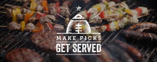 Make picks Get served