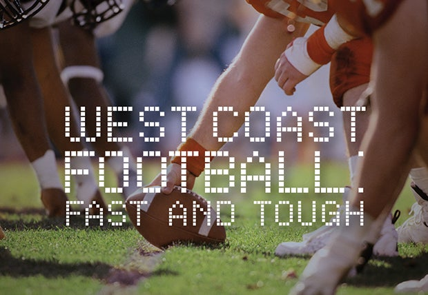 West Coast Football Fast And Tough