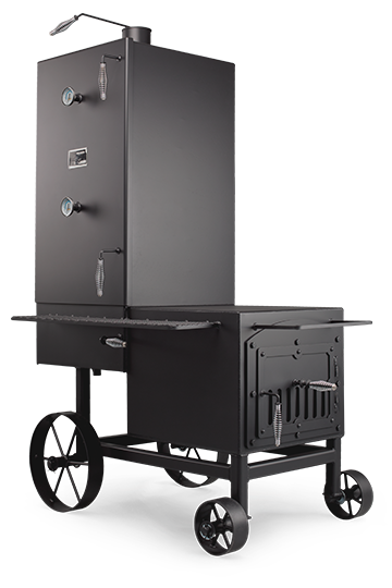 The Vertical Smoker